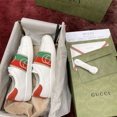古驰Gucci  Ace Sneakers系列小白鞋 G3011 X3
